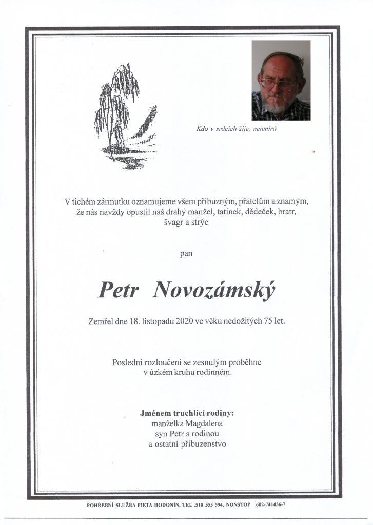 Parte- Petr Novozámský